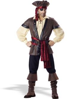 Stylish pirate attire