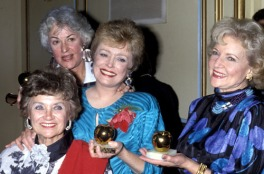 Golden Girls holding Golden Apples