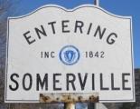 Entering Somerville sign
