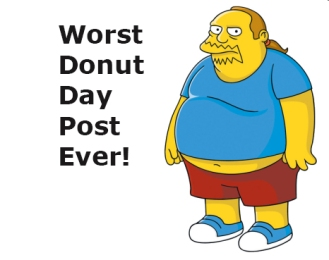 Comic Book Guy - Donut Day