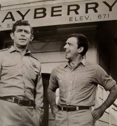Andy Griffith and Ken Berry
