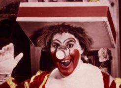 Ronald McDonald, original version