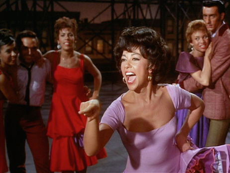Rita Moreno as Anita in West Side Story