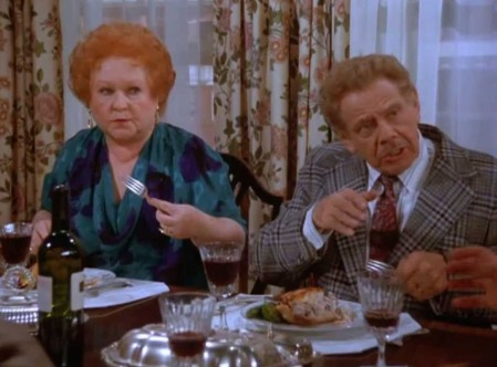 Estelle and Frank Costanza