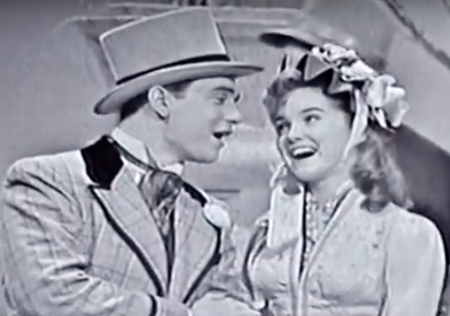 Dianne Lennon and Larry Dean sing Easter Parade