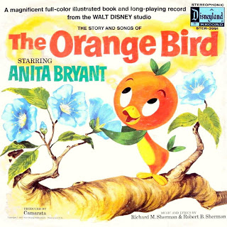 Anita Bryant orange bird album cover