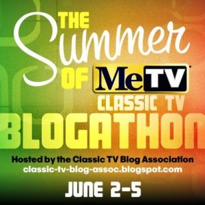 MeTV Blogathon logo