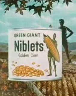 can of Green Giant niblets