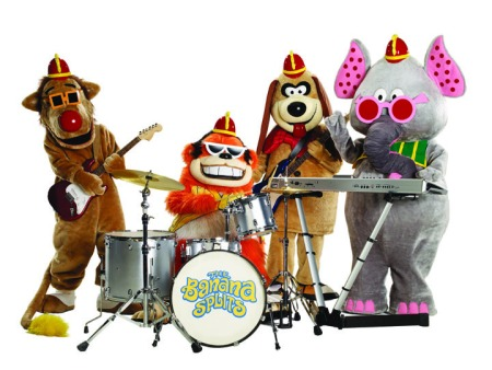cast of The Banana Splits Adventure Hour