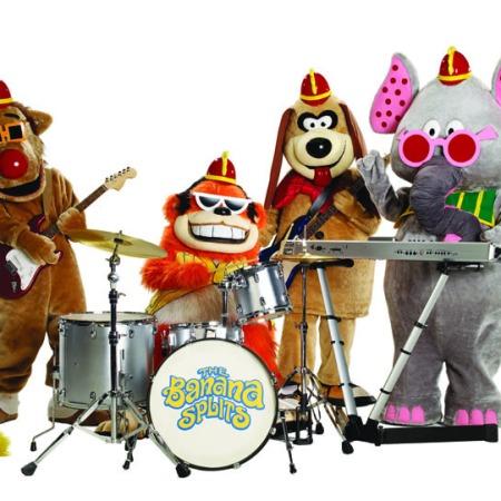 cast of The Banana Splits Adventure Hour