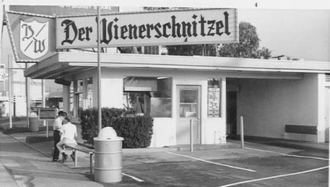 The first Der Wienerschnitzel in Wilmington, Calif.