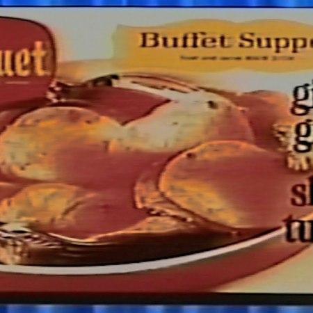 Banquet Buffet Supper frozen TV dinner