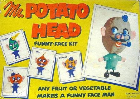 vintage Mr. Potato Head kit