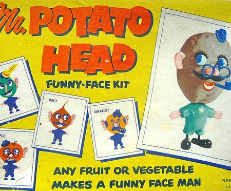 vintage Mr. Potato Head kit