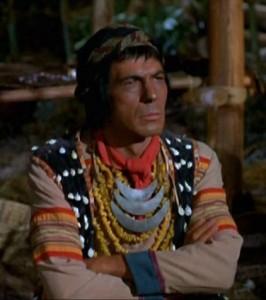 """Leonard Nimoy as """"Oontah"""" on Daniel Boone"""