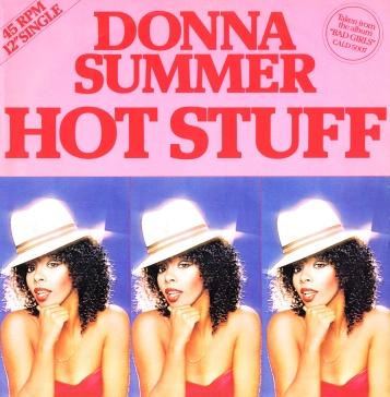 Donna Summer - Hot Stuff record jacket