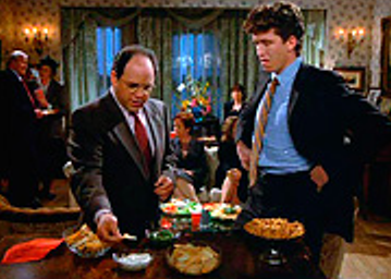 George Constanza with chips