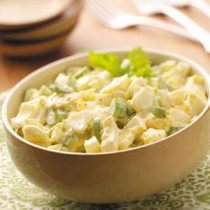 egg salad in bowl