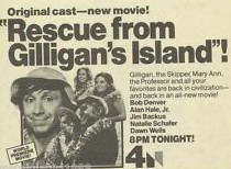 Rescue from Gilligan's Island ad