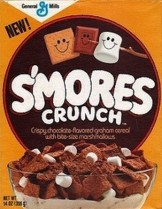 S'mores Crunch cereal box