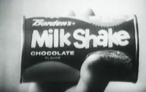Borden's Milk Shake in can