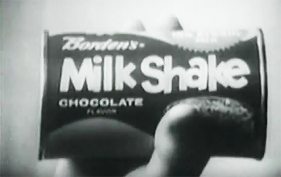 Borden's Milk Shake in can