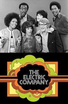 The Electric Company cast and logo