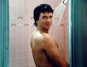 Bobby Ewing in shower