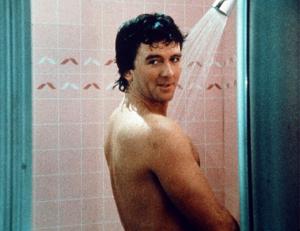 Bobby Ewing in shower