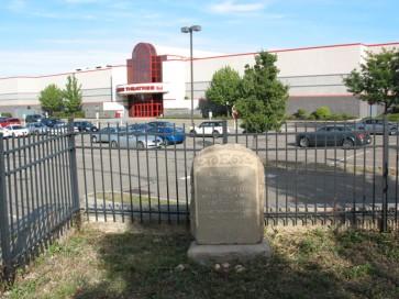 Mary Ellis's grave