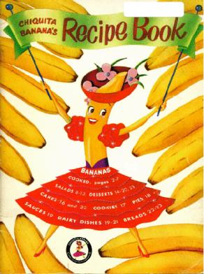 Chiquita Banana's Recipe Book