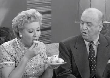Ethel eats