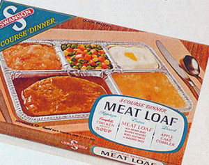 Swanson meatloaf frozen dinner