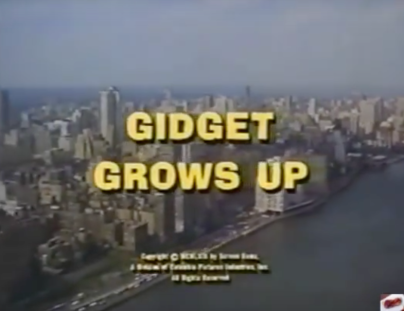 Gidget Grows Up title screen