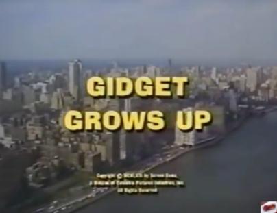 Gidget Grows Up title screen