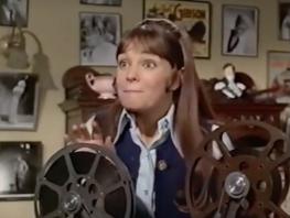 Gidget with film