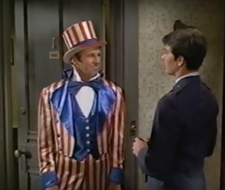 Louis B as Uncle Sam