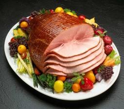 spiral glazed ham