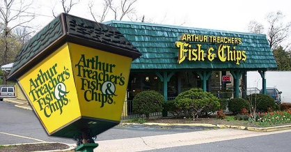 Arthur Treacher's Fish & Chips restaurant