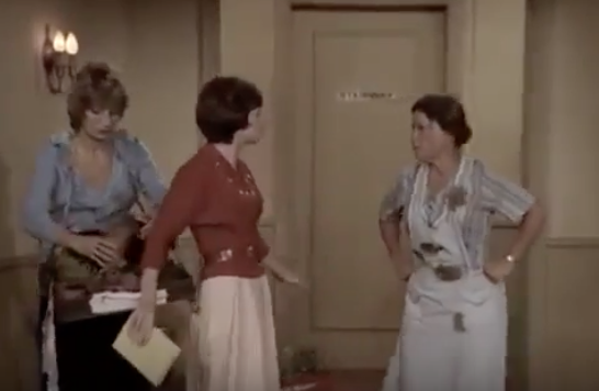 Mrs. Lasagna with Laverne and Shirley