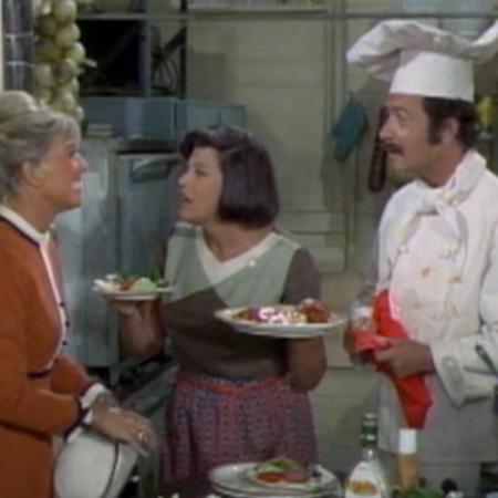 Doris Day, Kaye Ballard, Bernie Kopell on The Doris Day Show
