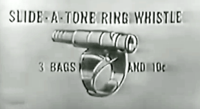 slide-a-tone ring whistle