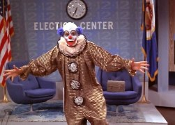 Richard Schaal as Chuckles the Clown