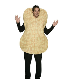 peanut costume
