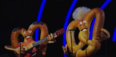 Simon & Garfunkel pretzels