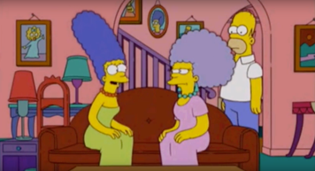 Marge is excited to hear about Patty's engagement