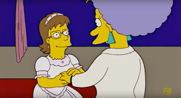 """Veronica"" proposes as a man"