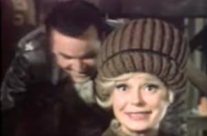 Bob Crane and Carol Channing