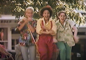 group of women in McDLT commercial