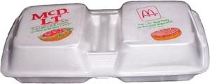 McDLT packaging